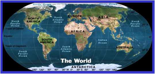 Location - 5 Themes of Geography webquest